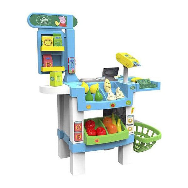 Playset Supermarket Peppa Pig (38 pcs) (74 x 50 x 91 cm) - Decorema