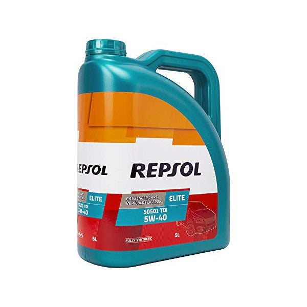 Engine Lubricating Oil Repsol ELITE TDI (5L) - Decorema
