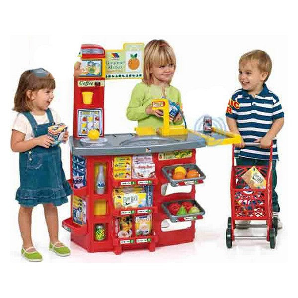 Playset Supermarket Moltó (20 pcs) (90 cm) - Decorema