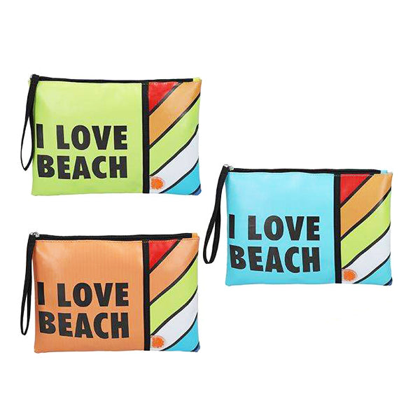 Necessär I Love Beach (27 x 20 x 0,5 cm) - Decorema