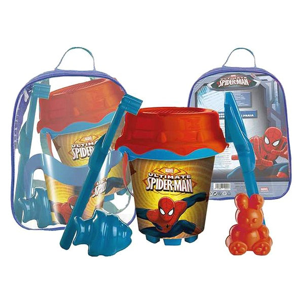 Strandleksaker set Spiderman (7 pcs) - Decorema