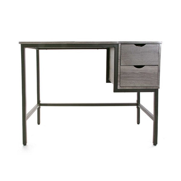 Desk PVC Steel Wood MDF (48 x 76 x 100 cm)