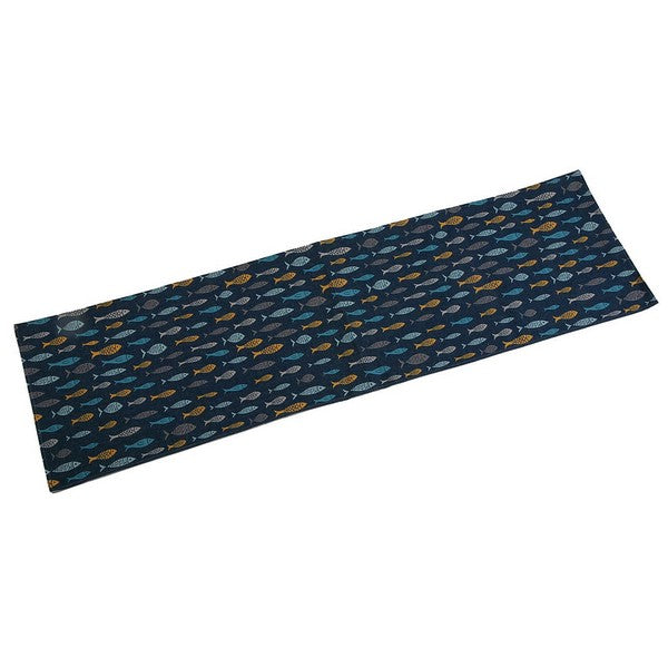 Bordslöpare Blue Bay Polyester (44,5 x 0,5 x 154 cm) - Decorema