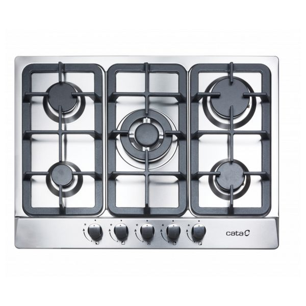 Gas plate Cata LGI7041X 60 cm Stainless steel (5 burners)