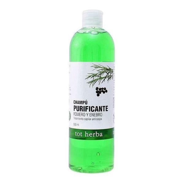 Anti-dandruff Shampoo Tot Herba (500 ml) - Decorema
