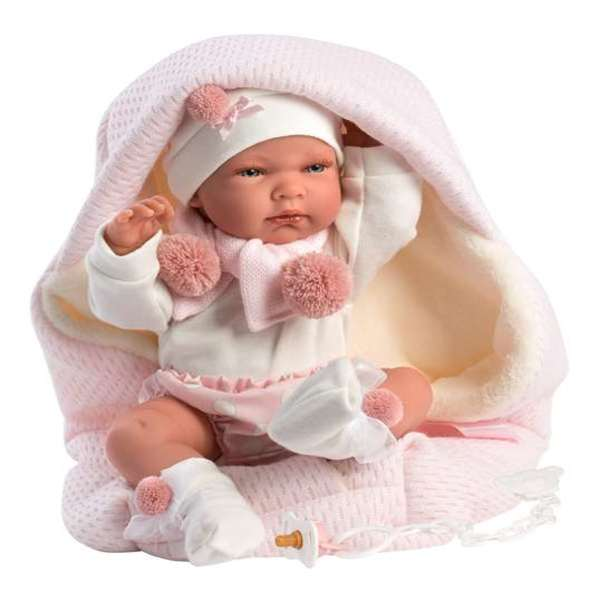 Baby doll with accessories Nica Llorens (40 cm)