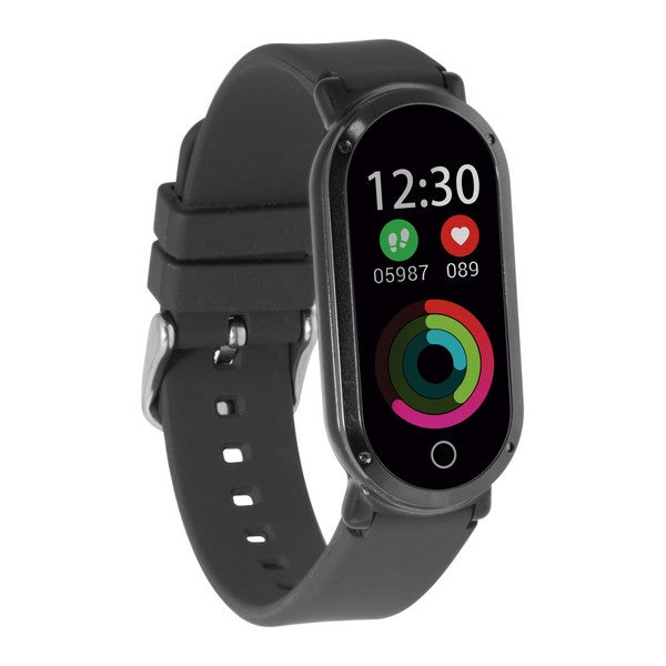 "Aktivitetsarmband KSIX Fitness Band HR3 0,96"" TFT Bluetooth Svart - Decorema"