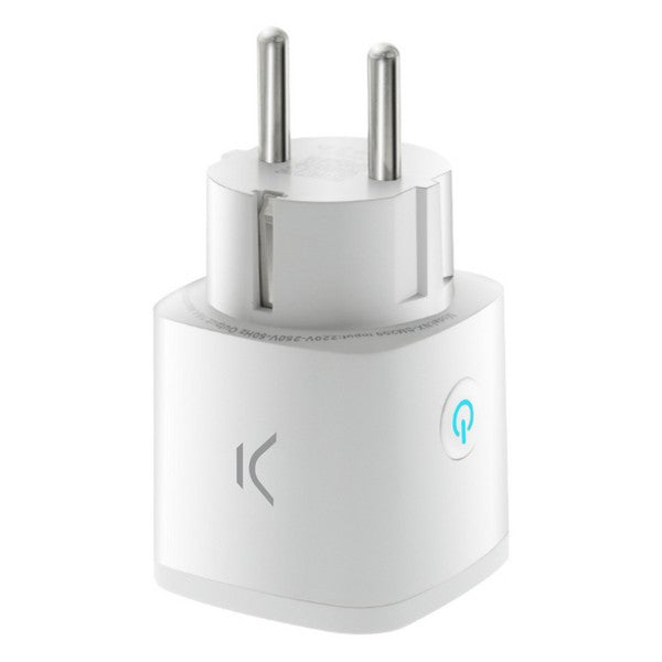 Smartkontakt OR: Intelligent Kontakt KSIX Smart Energy Mini WIFI 250V Vit - Decorema