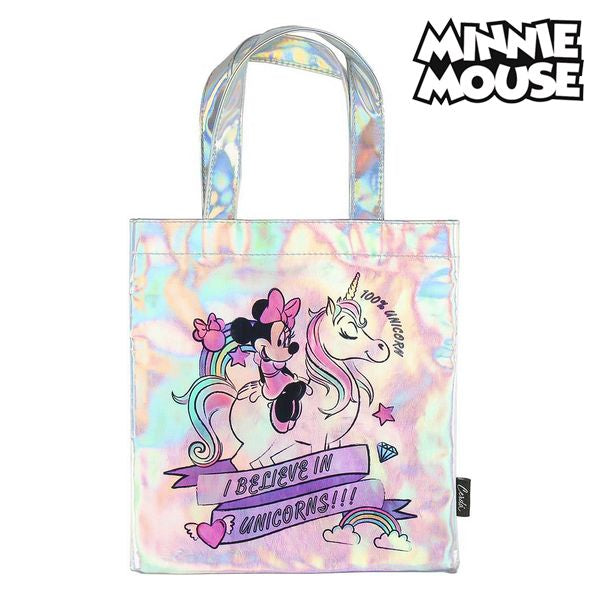 Väska Minnie Mouse 72874 Rosa Metallic - Decorema