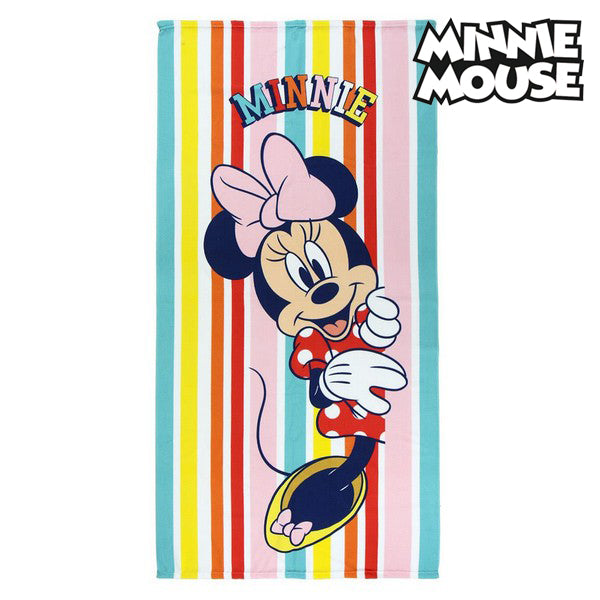 Strandbadduk Minnie Mouse 75686 Mikrofiber Multicolour - Decorema