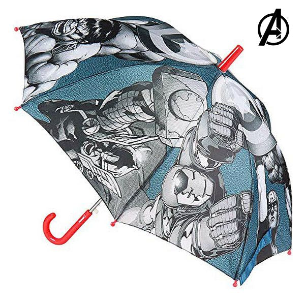 Foldable umbrella Marvel Gray (Ø 78 cm)