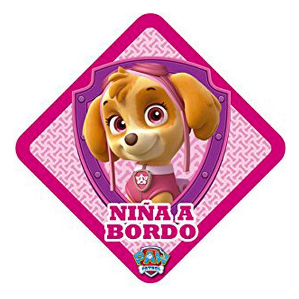 Car Sticker The Paw Patrol Bebis - Decorema