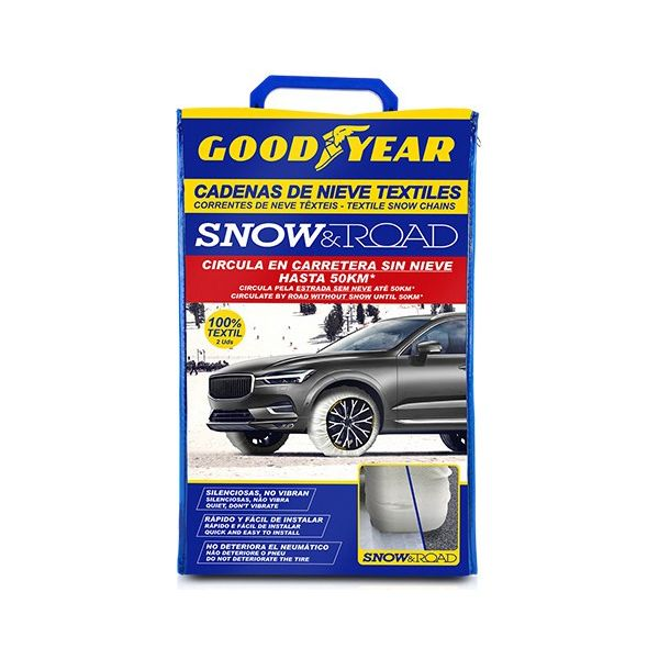 Car Snow Chains Goodyear SNOW & ROAD (L) - Decorema