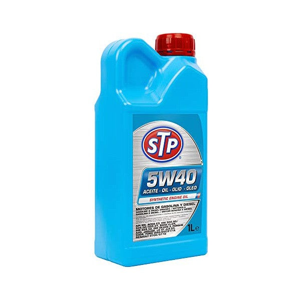 Engine Lubricating Oil STP 5W40 (1L) - Decorema