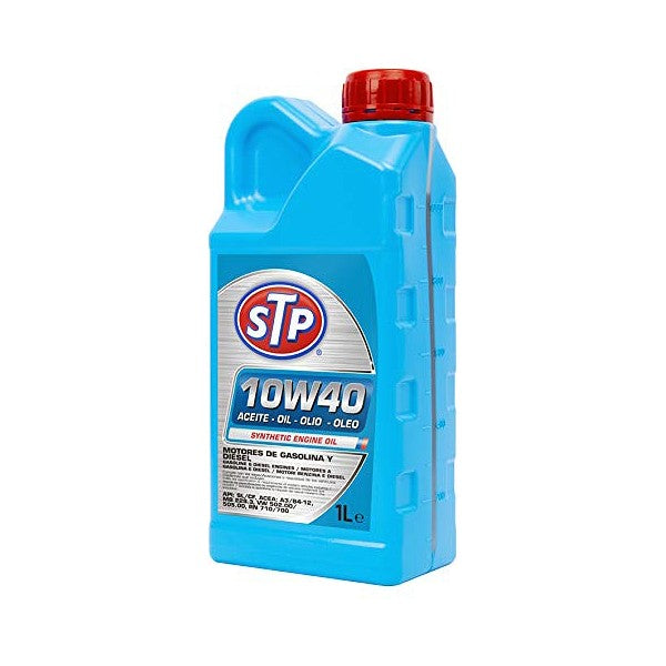 Engine Lubricating Oil STP 10W40 (1L) - Decorema