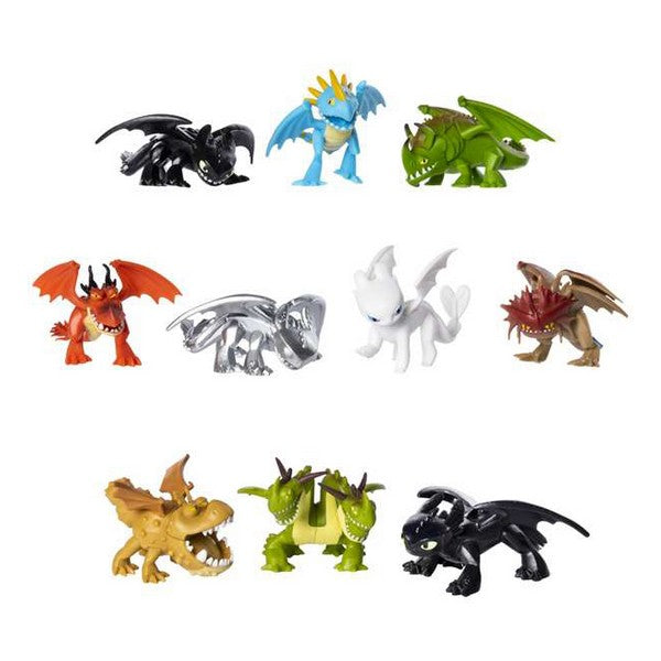Actionfigurer Mystery Dragon - How to Train Your Dragon Bizak (5 cm) - Decorema