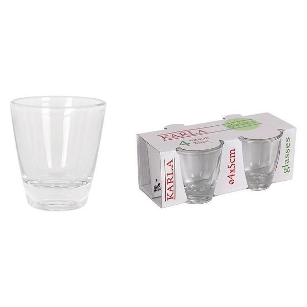 Set med snapsglas (4 pcs) - Decorema