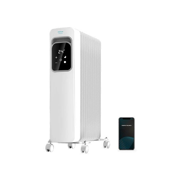 Oljeelement (11 ribbor) Cecotec ReadyWarm 11000 Touch Connected 2500 W Wi-Fi - Decorema