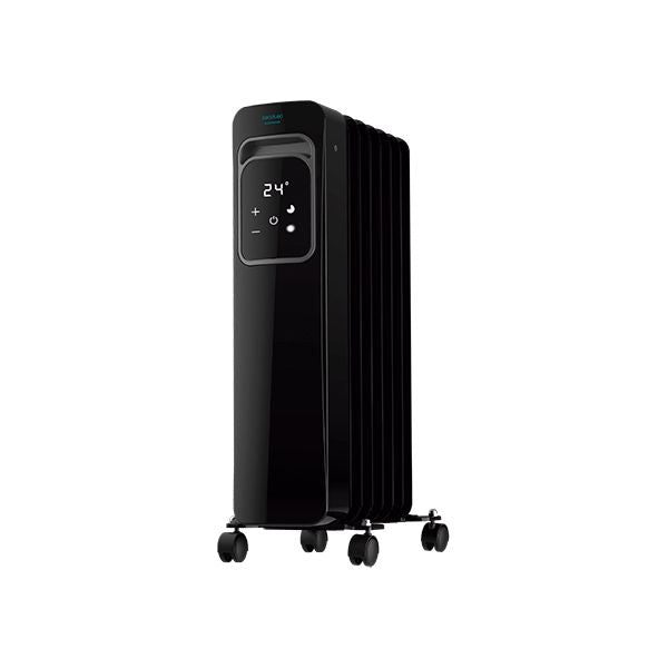 Oljeelement (7 ribbor) Cecotec ReadyWarm 7000 Touch Connected Black 1500 W Wi-Fi - Decorema