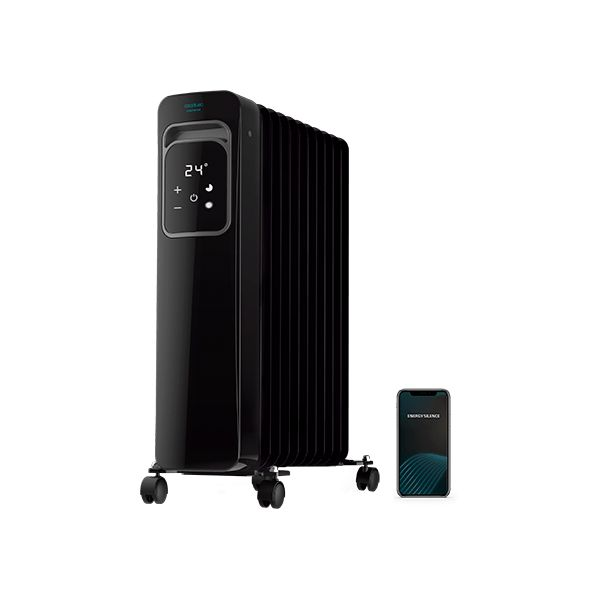 Oljeelement (11 ribbor) Cecotec ReadyWarm 11000 Touch Connected Black 2500 W Wi-Fi - Decorema