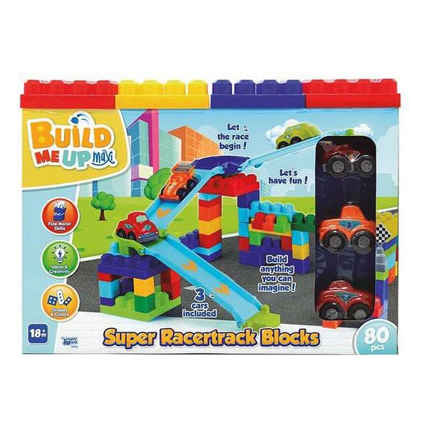 Byggklossespel Super Racertruck Blocs - Decorema