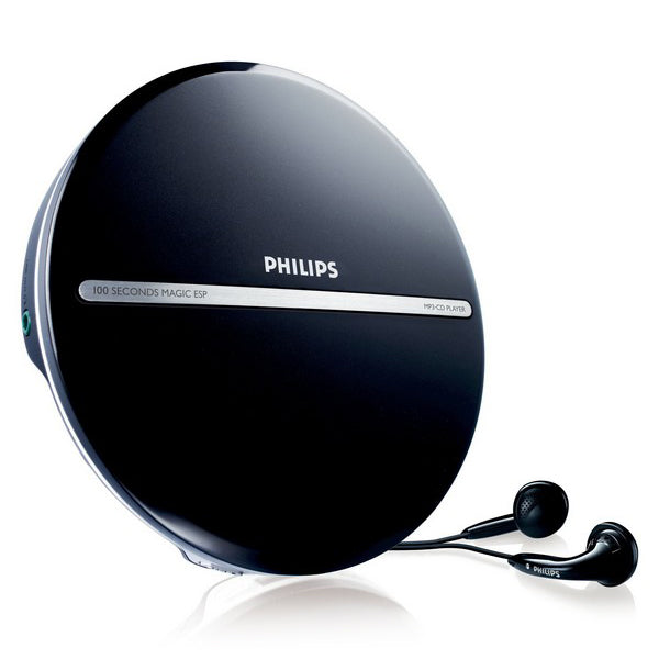 MP3 CD-spelare Philips EXP2546/12 LCD (3.5 mm) Svart - Decorema