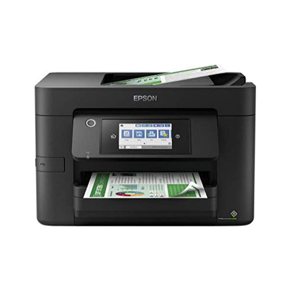 Multifunktionsskrivare Epson WorkForce Pro WF-4820DWF 12 ppm WiFi Fax Svart - Decorema