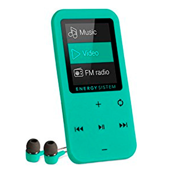 "Reproductor MP4 Energy Sistem Touch (426430) 1.8""8 GB Menta"