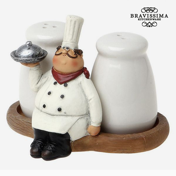 Salt och peppar-set  Bravissima Kitchen 8861 (2 pcs) - Decorema