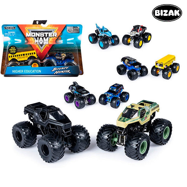 Bil Monster Jam (2 uds) - Decorema