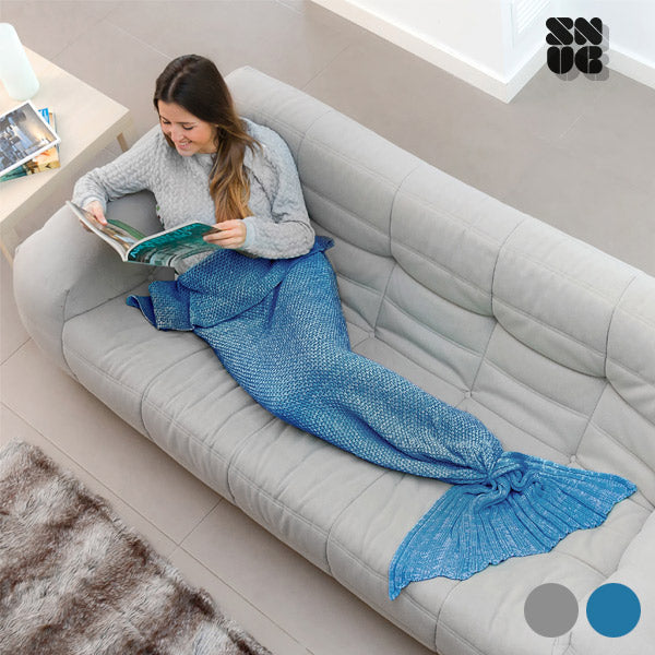 Filt Sjöjungfru Snug Snug One Mermaid - Decorema