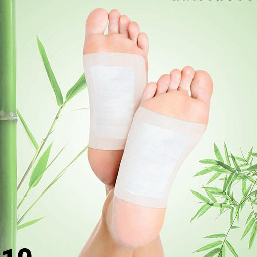 Detox foot patch InnovaGoods (10 pcs)