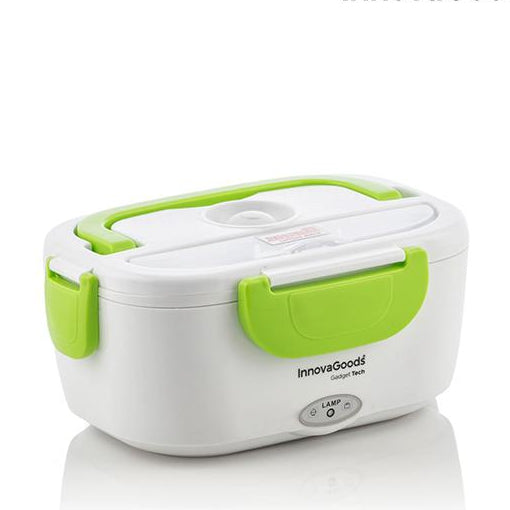 Electric lunch box InnovaGoods 40W White Green