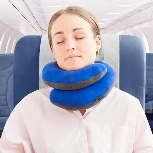 InnovaGoods Travel Pillow with Chin Support