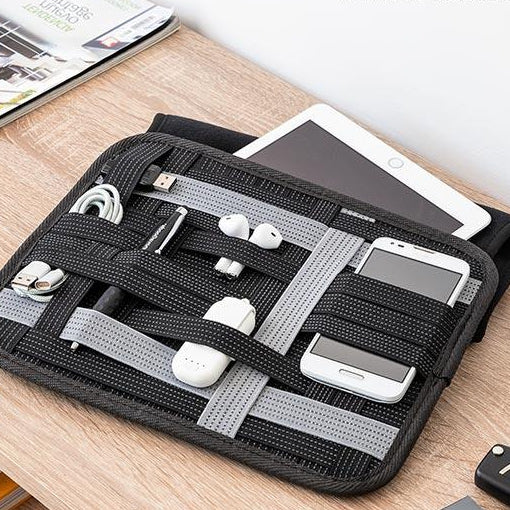 InnovaGoods Flexi-Case Tablet Case with Accessory Organiser - Decorema