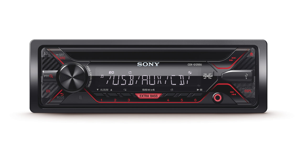 Sony Head Unit CDX-G1201U