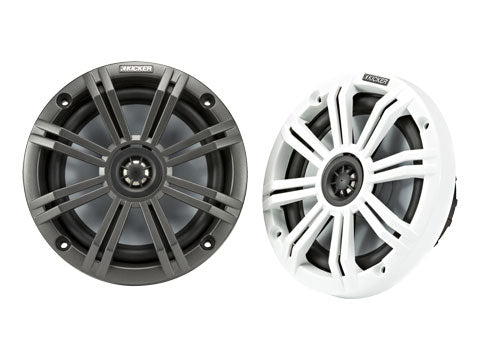 Kicker Coaxial Marine Speakers