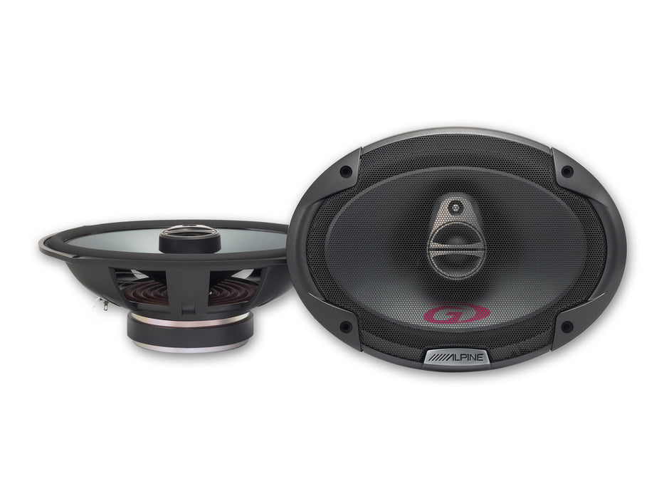 Alpine 6 x 9″ COAXIAL 3-WAY SPEAKER SPG-69C3