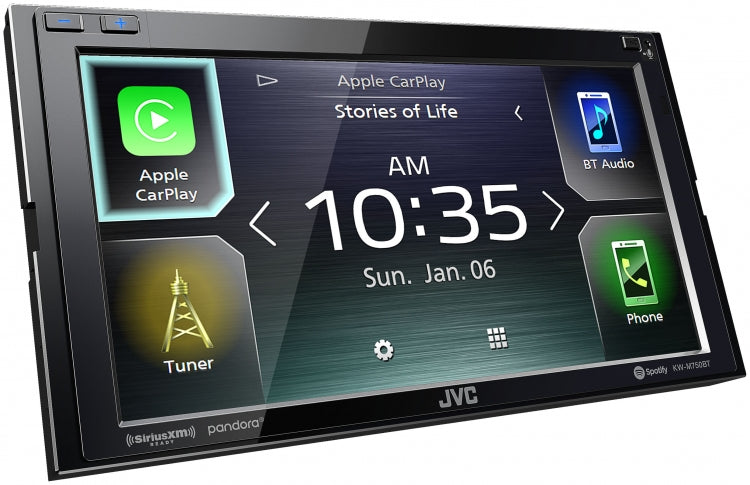 JVC Head Unit KW-M750BT