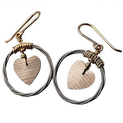 Love Cymbal Cymbalism earrings