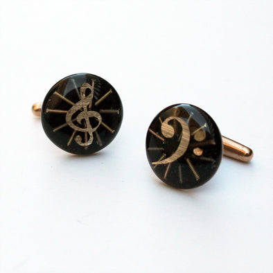 Radiant Treble & Bass Cufflinks