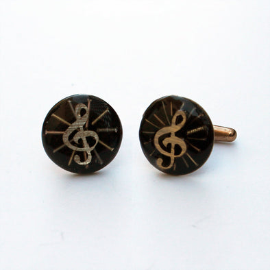 Radiant Treble Cufflinks