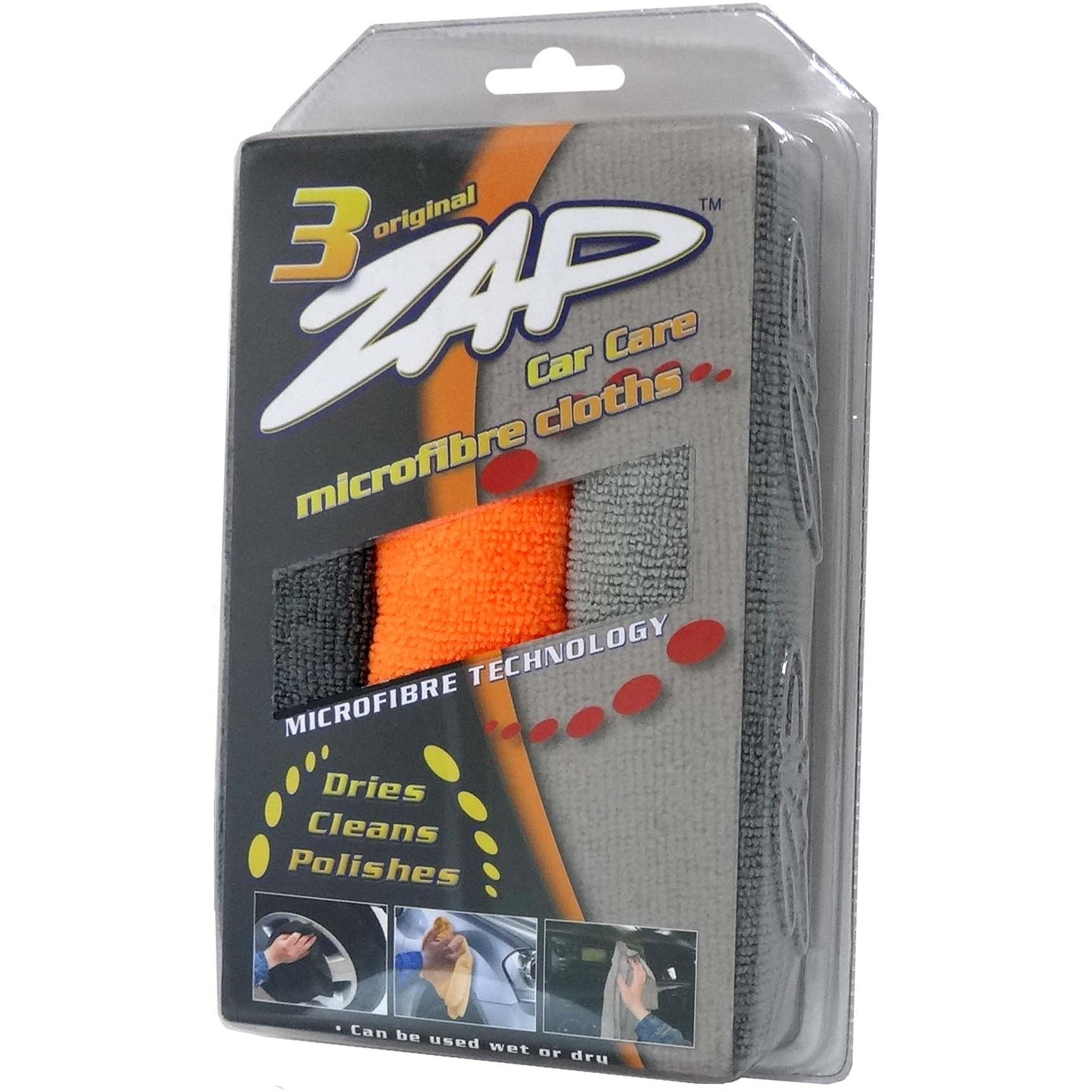 ZAP TRIPLE CAR CARE CLEANING (38cmx38cm) 3pcs/pack