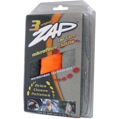 ZAP TRIPLE CAR CARE CLEANING (38cmx38cm) 3pcs/pack - Autohub Pakistan - 1