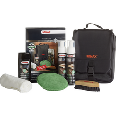 Sonax Premium Class Leather Care Kit - Autohub Pakistan