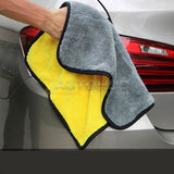 Auto Junkies Yellow Microfiber Plush (60x40cm) - Autohub Pakistan