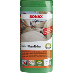 Sonax Leather Care Wipes Box - Autohub Pakistan