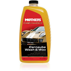 MOTHERS Carnauba Wash & Wax (64 oz). - Autohub Pakistan