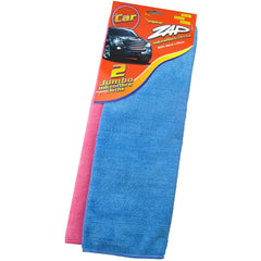 ZAP Microfiber Cloth CAR JUMBO (40cm x 55cm) 2Pcs/Pack - Autohub Pakistan - 1