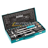 "Total 24 Pcs 1/2"" Socket Set - Autohub Pakistan"